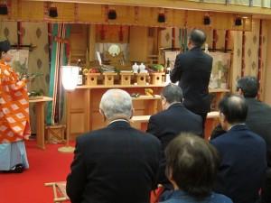 ホテル神殿 新年特別祈祷